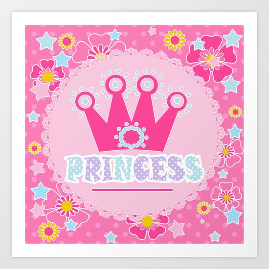 """For the little Princess. From the series """"Gifts for kids"""" . Art Print"""