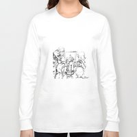 teacher Long Sleeve T-shirts featuring small teacher by Mark Kovalchuk