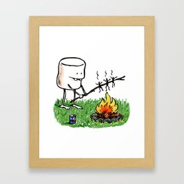 Roasted Framed Art Print