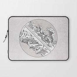 Mountains // Waves Laptop Sleeve