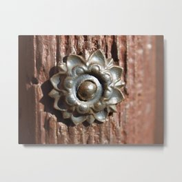 metal fitting Metal Print