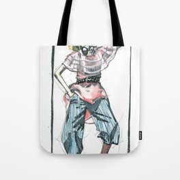 Bow Tie Tote Bag