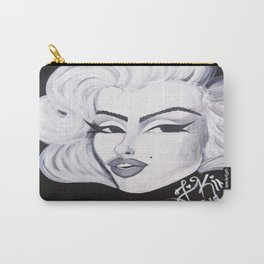 Monroe (Black & White) Carry-All Pouch