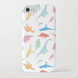 Dino Doodles iPhone Case