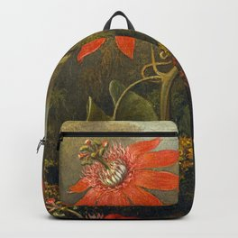 Hummingbird and Passionflowers Backpack