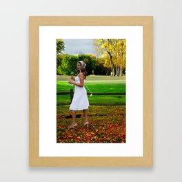 """""""Score Card""""  Framed Art Print"""