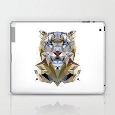 White Leopard Laptop & iPad Skin