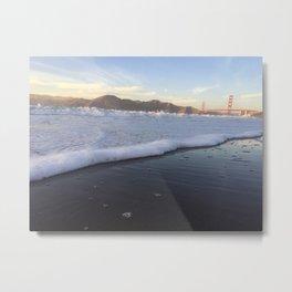 baker beach Metal Print