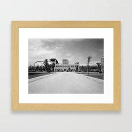 16 Foot High Speed Tunnel Framed Art Print