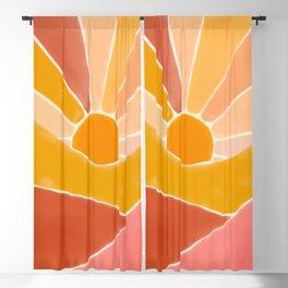 Wonderful Sunset Boho Blackout Curtain