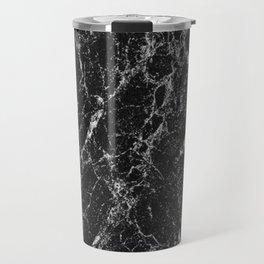 Black Marble 2 Travel Mug