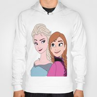 frozen Hoodies featuring Frozen by stealingoceans