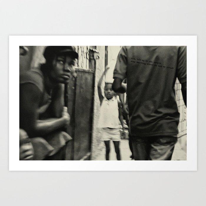 Lyrical Haiti 10 Art Print