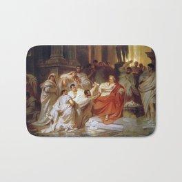 Karl Theodor von Piloty - Murder of Caesar Bath Mat