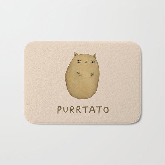 Purrtato Bath Mat