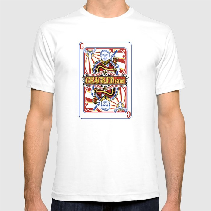 The Cracked Wild Card T-shirt