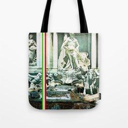 Italian Trevi fountain Rome Tote Bag