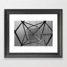 Power to the People! Framed Art Print