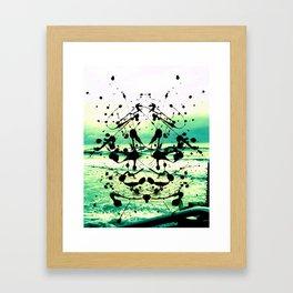 I want a Vacation Framed Art Print
