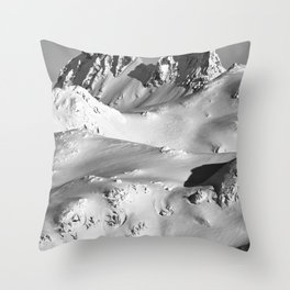 Mt.Fee Landscape series, Whistler BC Canada #5 of 5 Throw Pillow