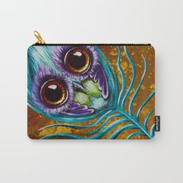 peacockfeather Carry-All Pouch