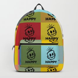 HAPPY SQUARES Backpack