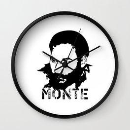 Monte Melkonyan. National Hero of Armenia #society6 #decor #buyart #artprint Wall Clock