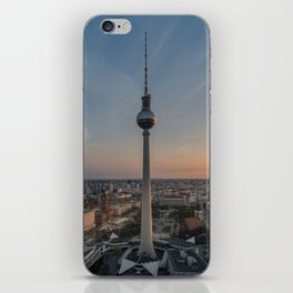 TV Tower at Sunset iPhone Skin