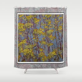 MAGIC DILL WEED Shower Curtain