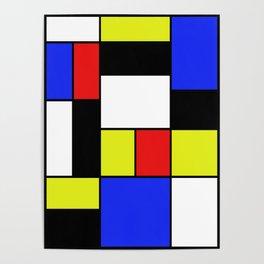 Mondrian #20 Poster