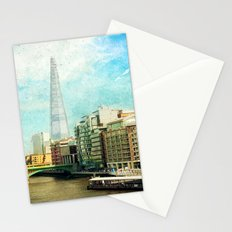 The Shard and The Thames - London Stationery Cards