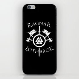 Ragnar Lothbrok | Viking Valhalla Norge Mythology iPhone Skin