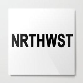 PNW North West - Oregon - Washington Metal Print