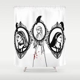 Mother, Maiden, Crone Shower Curtain