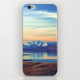 Lake Tekapo New Zealand-Fall iPhone Skin