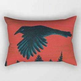 Flying West Rectangular Pillow
