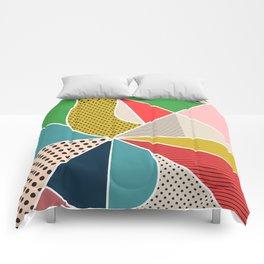 color segments 002 Comforters