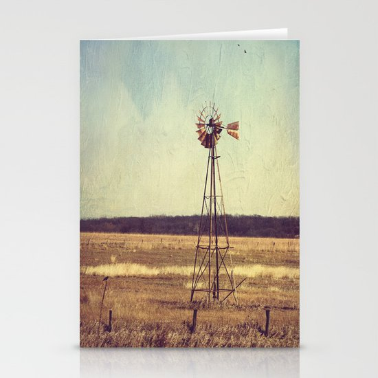 Alone on the Prairie  Stationery Cards