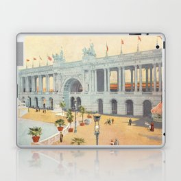 Colonnade at 1893 World's Fair in Chicago Laptop & iPad Skin