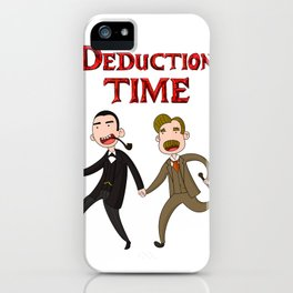 Deduction Time iPhone Case