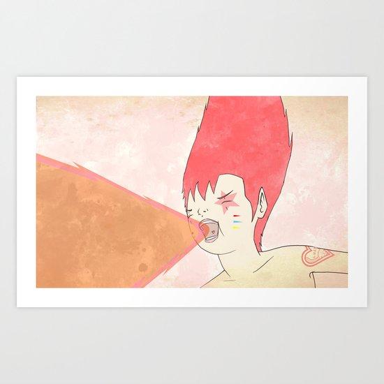 선구자 무아지경 - 先驅者 無我之境 Art Print