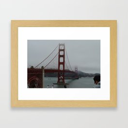 Golden Gate Bridge Print Framed Art Print