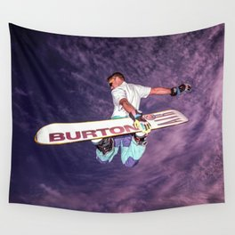 Snowboarding #2 Wall Tapestry