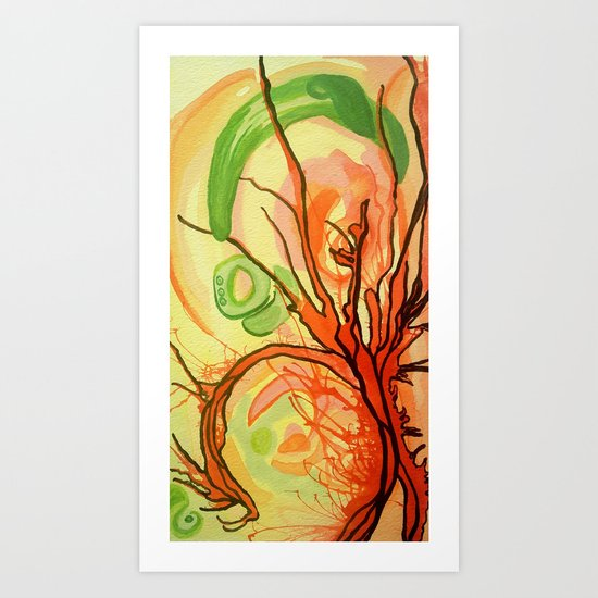 Gristle Art Print