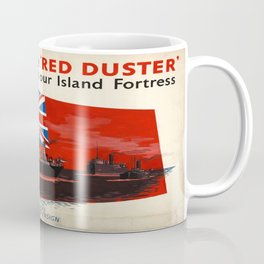 Vintage poster - Under the Red Duster Coffee Mug