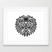 leo Framed Art Prints featuring Leo by Mario Sayavedra