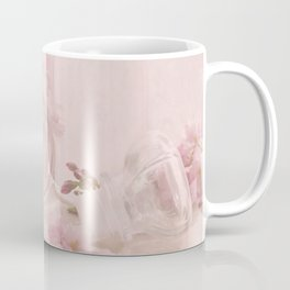 Almond blossoms in Vintage Style Coffee Mug
