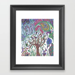 Life Is... Framed Art Print