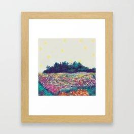 Firefly Framed Art Print