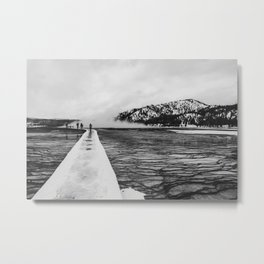 Grand Prismatic Spring Boardwalk, Yellowstone National Park Metal Print